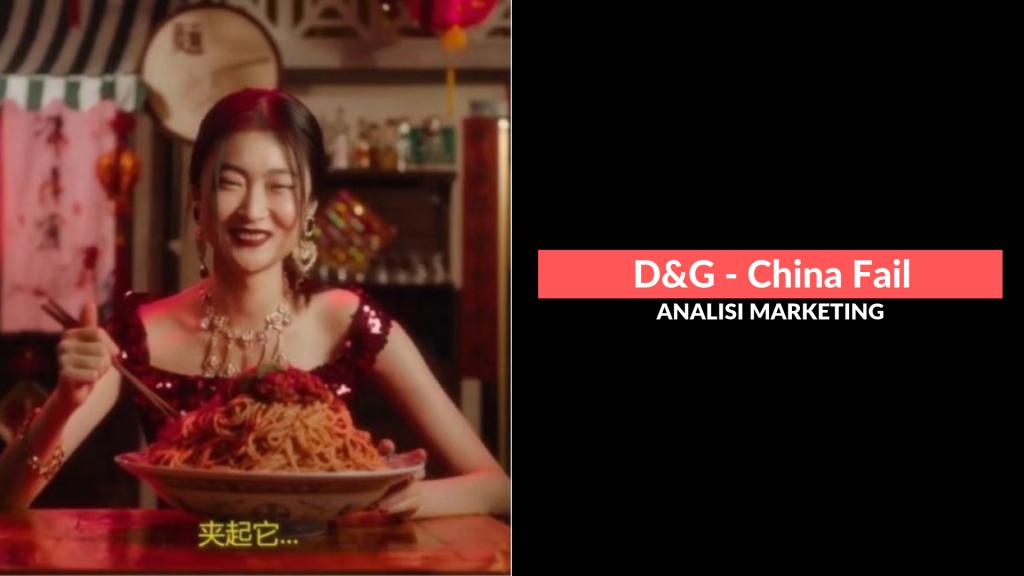 Dolce & Gabbana: analisi marketing China Fail